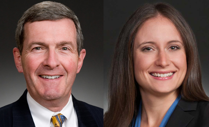 Wheeler Trigg O'Donnell attorneys John Fitzpatrick and Erin Frohardt
