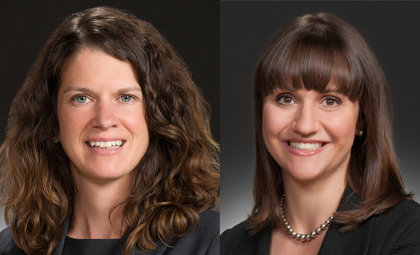 WTO attorneys Katie Reilly and Kendra Beckwith