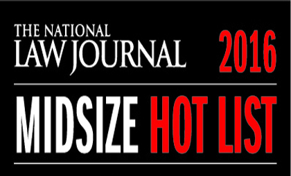 Wheeler Trigg O'Donnell named to 2016 National Law Journal Midsize Hot List