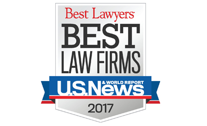 U.S. News - Best Lawyers 2017 logo
