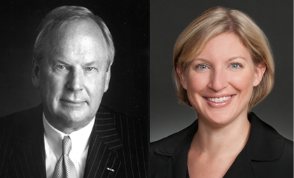 WTO lawyers John Vaught and Emma Garrison