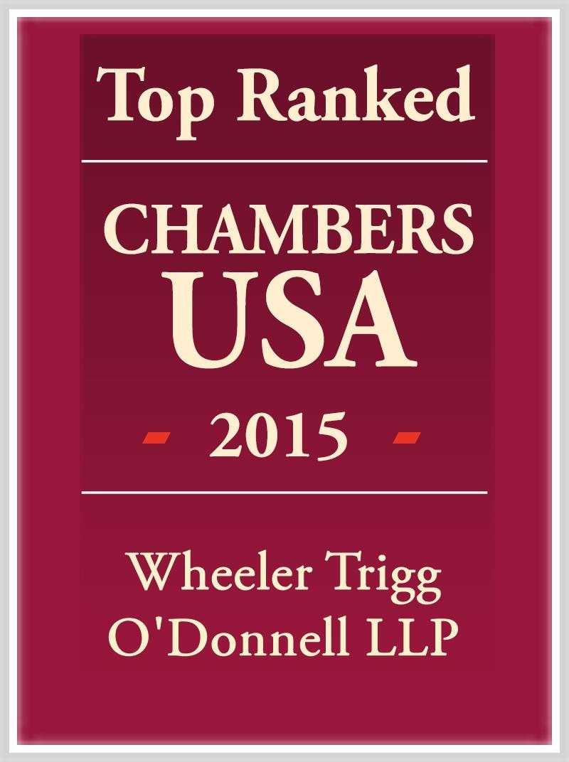 Chambers USA 2015 Ranks WTO Among Top Firms Nationwide and